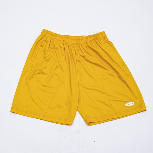 CRATE LOGO Mesh Pants YELLOW