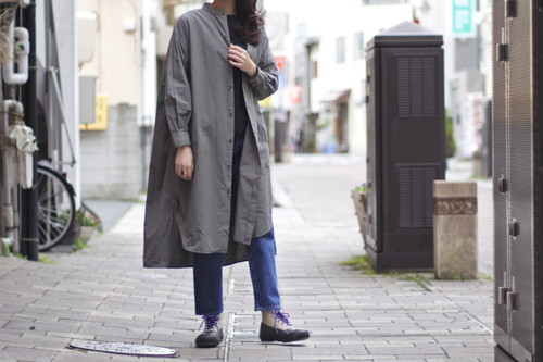 【ORDINARY FITS】STAND EDWARD ONE PIECE col.GRY