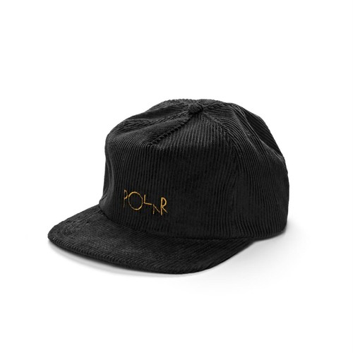 POLAR SKATE CO(ポーラー) / CORD 5-PANEL CAP -BLACK-
