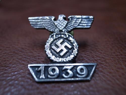 VTG ナチス卍 1939 ピンバッチ⑰