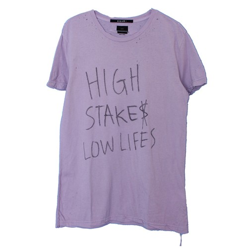 HIGH LOW SS TEE SNOOP(Ksubi)