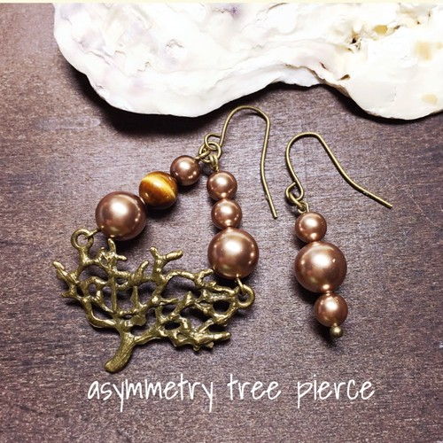 【asymmetry tree pierce】