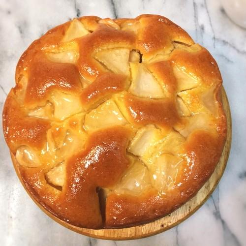 りんごのバターケーキ(6号・18cm、6~8人分)