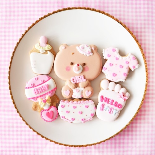 HELLO BABY アイシングクッキーセット