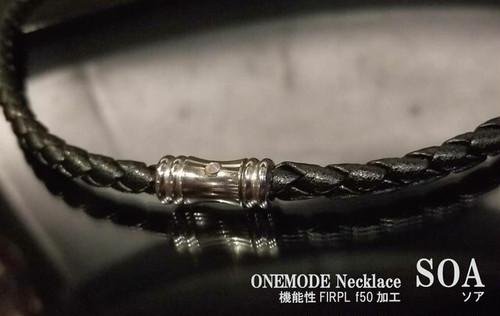 ONEMODE 機能性ネックレス SOA WHITE