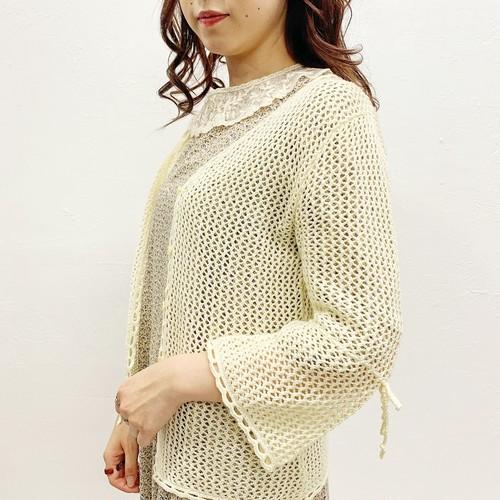 (LOOK) mèche knit cardigan