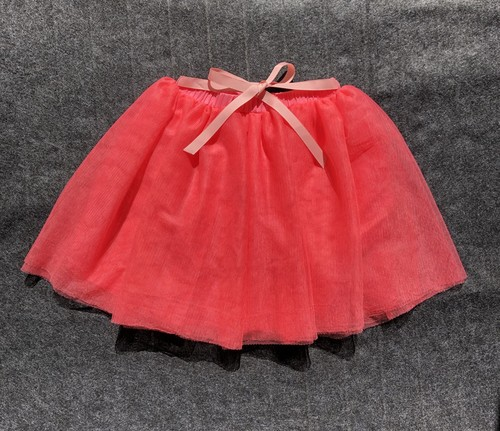 Malvi オレンジチュールスカート