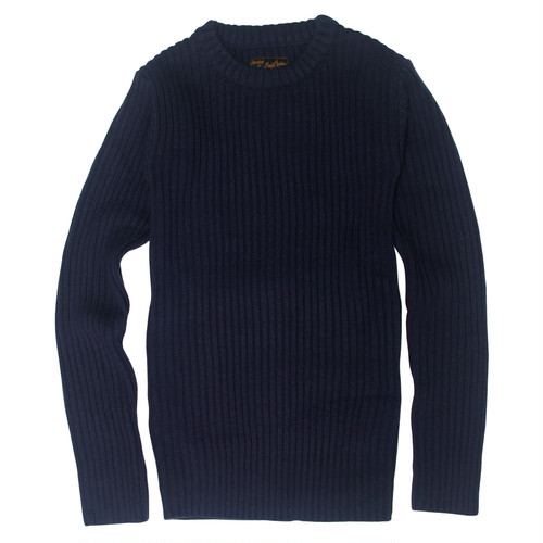 THE ARMY KNIT -NAVY- 【TH-026】