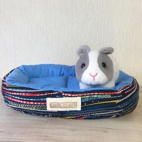 もるちゃんのひんやりベッド(スモーキーブルー)