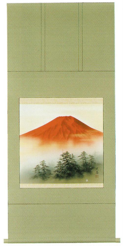 赤富士 川崎光春 尺八横 6136