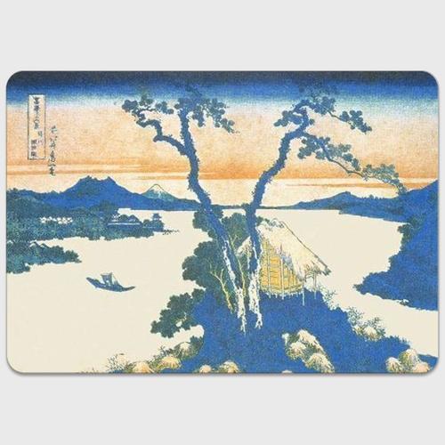 信州諏訪湖 MacBookステッカー MacBook 12inch コーティングあり  りんごマークなし