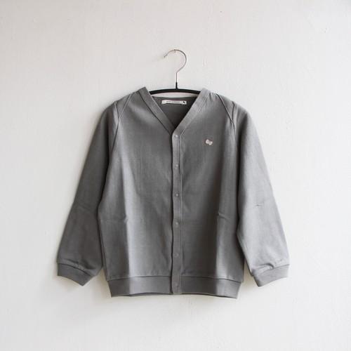 《mina perhonen 2020AW》zutto カーディガン / gray / 80-100cm