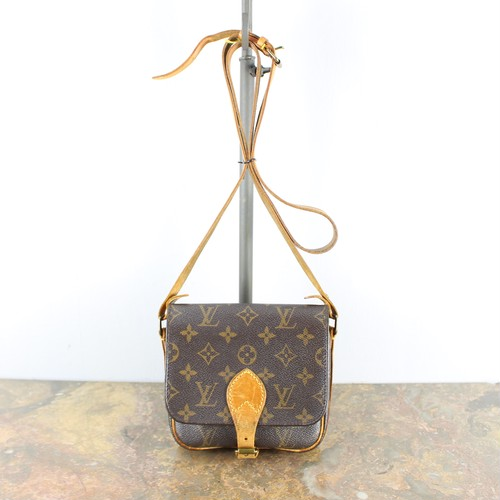 .LOUIS VUITTON M51254 884SL MINI CARTOUCHIERE MONOGRAM PATTERNED SHOULDER BAG MADE IN FRANCE/ルイヴィトンミニカルトシエールモノグラム柄ショルダーバッグ 2000000040363