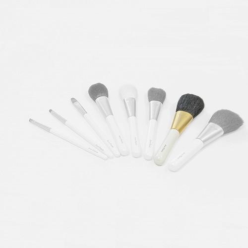 熊野化粧筆 フェイスブラシ PW パールホワイト
