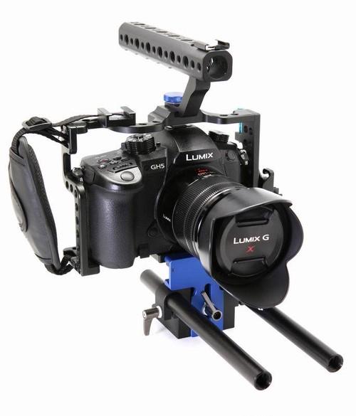 Catclaw社・Panasonic GH5カメラ用ケージ &  ベースプレート