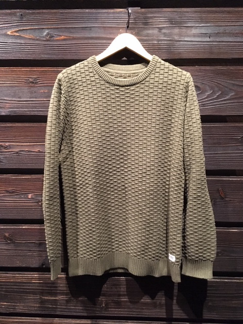 Banks Journal  CHAMBER KNIT  Olive Military  AKN0078