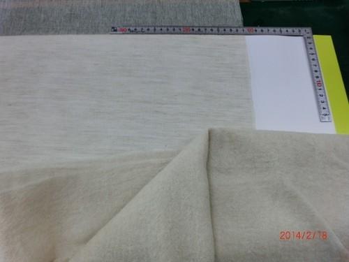 品番(N28LWG)麻40/ウール60:ガーゼ生機(生地)(巾125cm*1m)