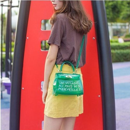 PVCハンドバッグ カラフルなデザインでお気に入りのデザインを