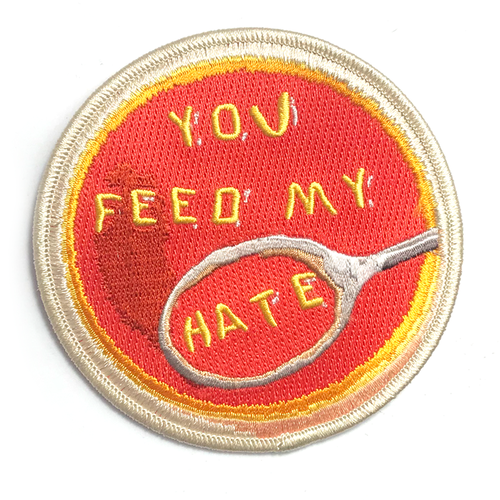 "BALL&CHAIN""FEED MY HATE PATCH"""