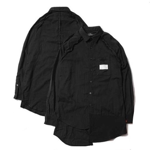 VIRGO Step switch long shirts / ヴァルゴ シャツ / VG-SH-166