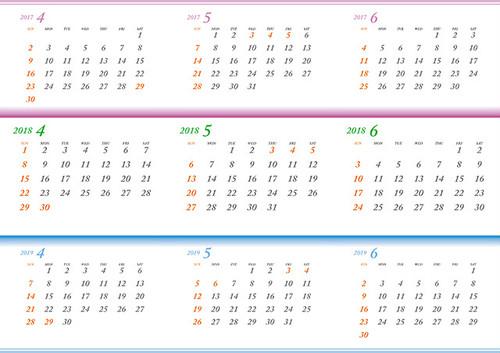 前後3年戦略カレンダーA2
