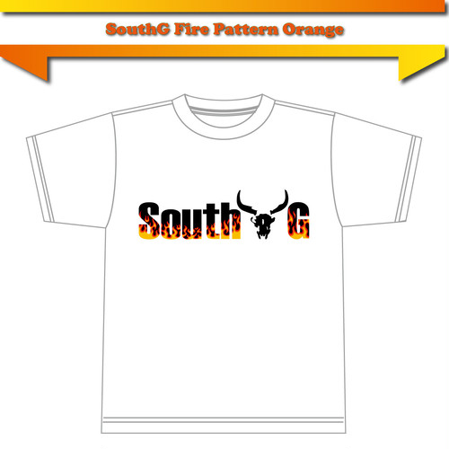 【SouthG Fire pattern Orange】