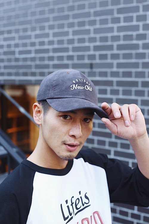 HOLIDAY CORDUROY CAP(Dark Gray)
