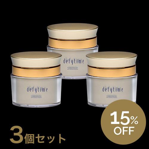defytime TAA cream エイジングケア・スキンクリーム[3箱セット]15%OF