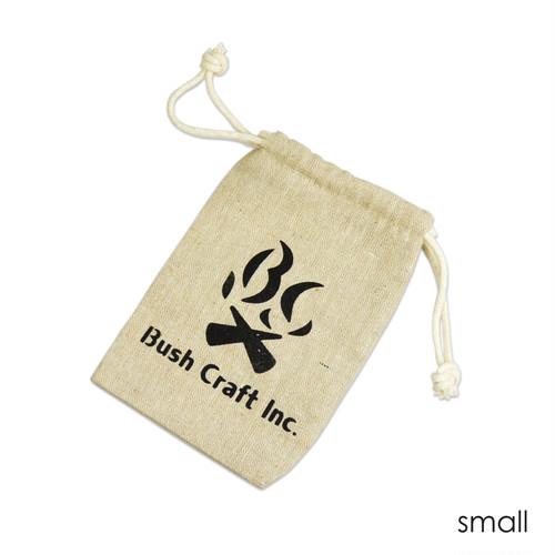 Bush Craft Inc ブッシュクラフト 麻袋 スモール   自然派 キャンプ アウトドア  bc4573350720851