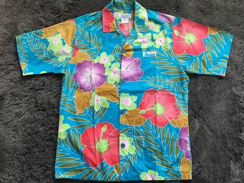ビンテージ SURFLINE ハワイアンシャツ アロハ 80s 90s OLD Sサイズ
