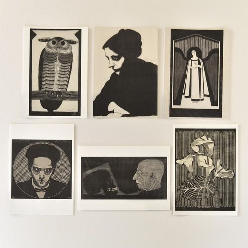 「メスキータ」展 ポストカード 6枚セットB