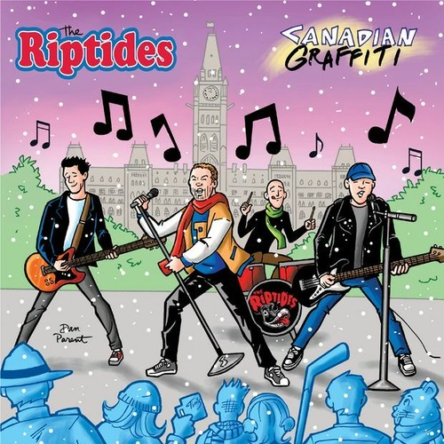 "the riptides / canadian graffiti 12"" COLORED vinyl"