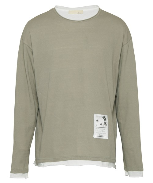 W FACE LAYERED LONG SLEEVE[REC455]