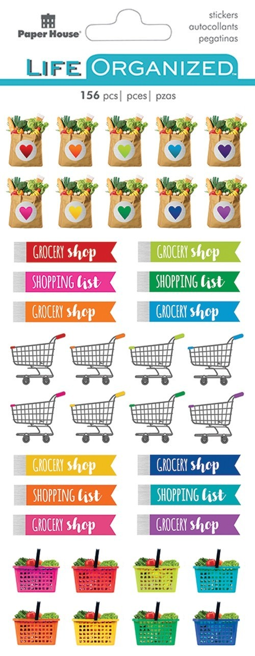 Grocery Shopping Stickers / PH