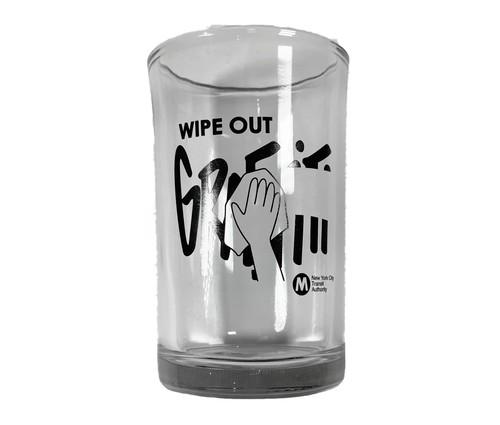 """MTA / GLASS """"Wipe Out Graffiti"""""""