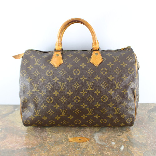 .LOUIS VUITTON SPEEDY35 M41524 MB0970 MONOGRAM PATTERNED BOSTON BAG MADE IN FRANCE/ルイヴィトンスピーディ35モノグラム柄ボストンバッグ 2000000040110