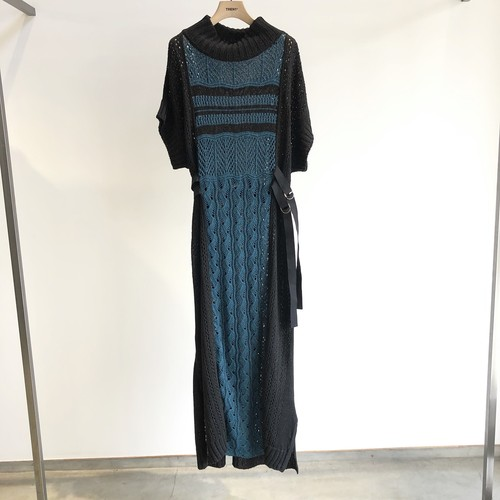 【20SS】EBONY エボニー / Long Knit Dress