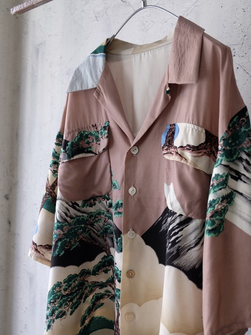 50's fabric shirt