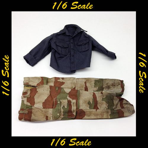 【01254】 1/6 Soldier Story FSF フランス 戦闘服
