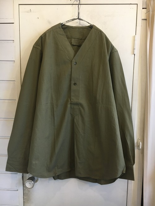 old military cotton pullover shirts