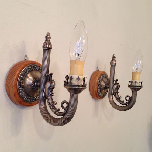 Wall Sconces Lamp Pair #2