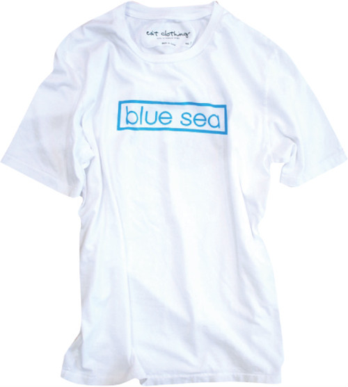 edit clothing - blue sea tee