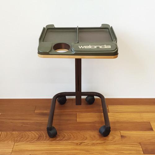 美容室のテーブル