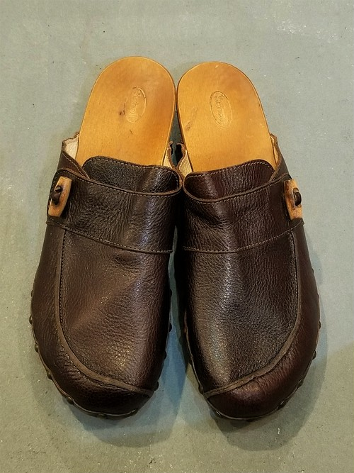 Scholl  Leather sabot [S-417]