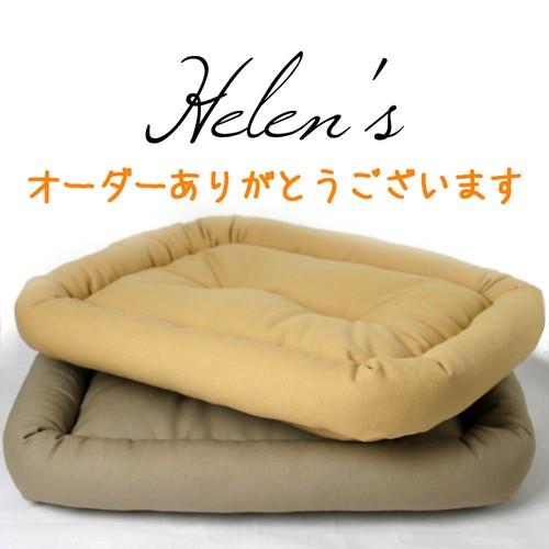 y様専用【受注制作】カミカミ大好きワンちゃん用8号帆布生地ベッド&6号帆布生地ベッド