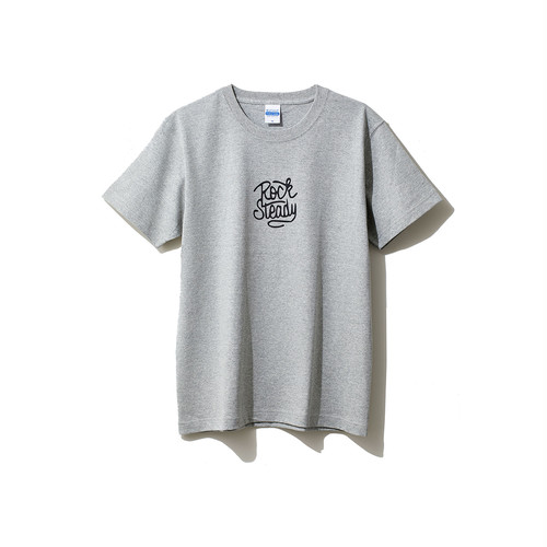 hntbk2028 Maskita Laba ROCK STEADY TシャツGRAY