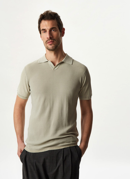 DELAVE POLO SHIRT WITH SHORT SLEEVE