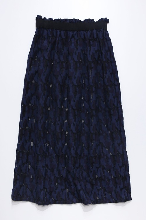 21SS Lace Rubber Skirt