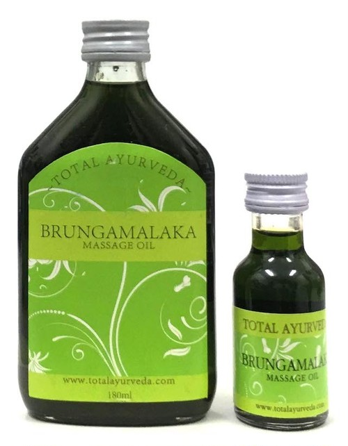 ブルンガヘアオイル(Brungamalaka)Total Ayurveda 180ml