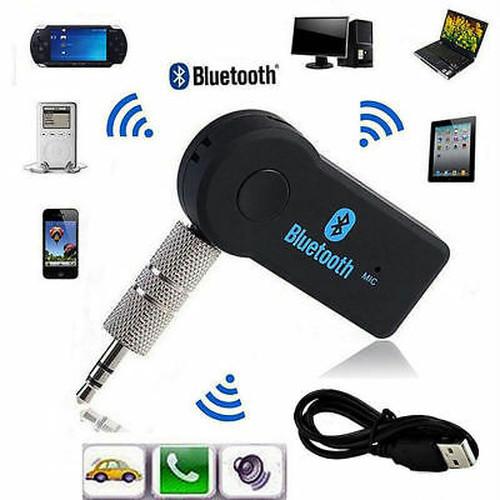 Bluetooth 3.5mmAuxアダプターレシーバー